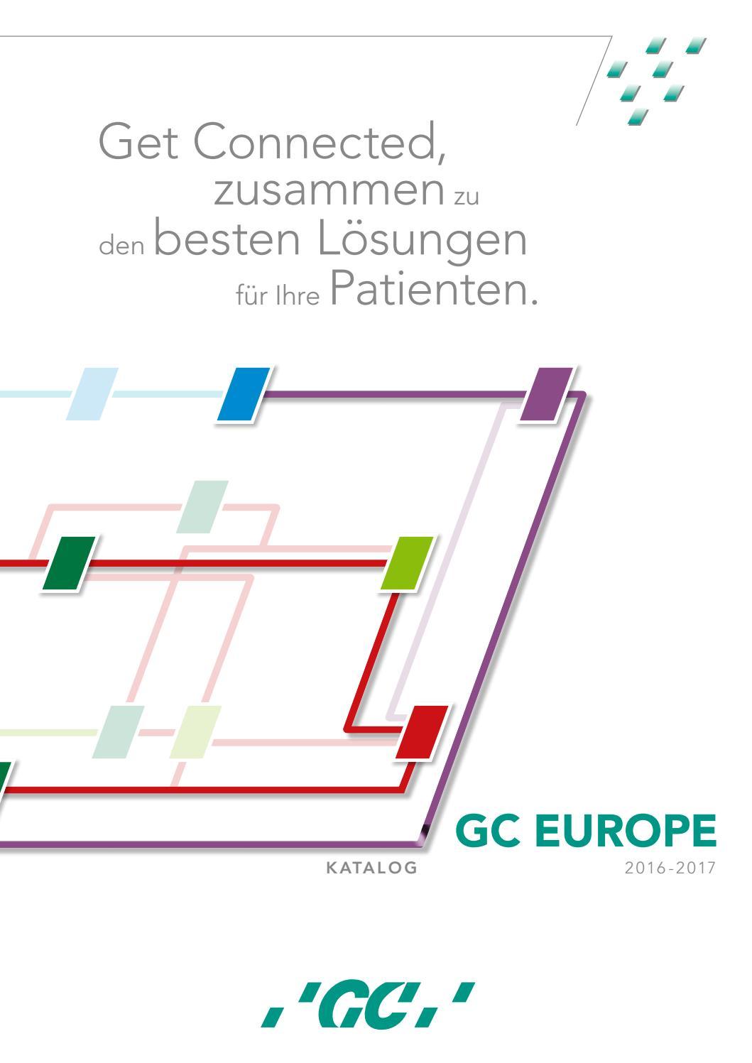 GC Europe Catalogue 2017-2018 German by GC Europe - issuu