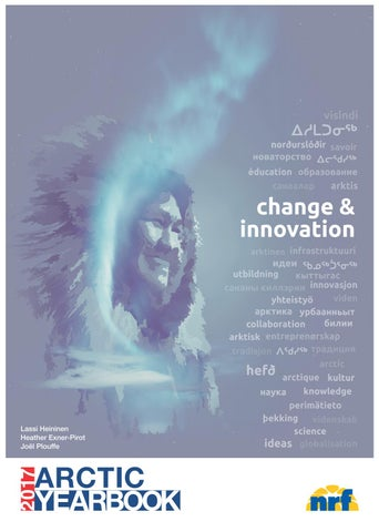 Arctic Yearbook 2017 Change Innovation By Arctic Portal Issuu