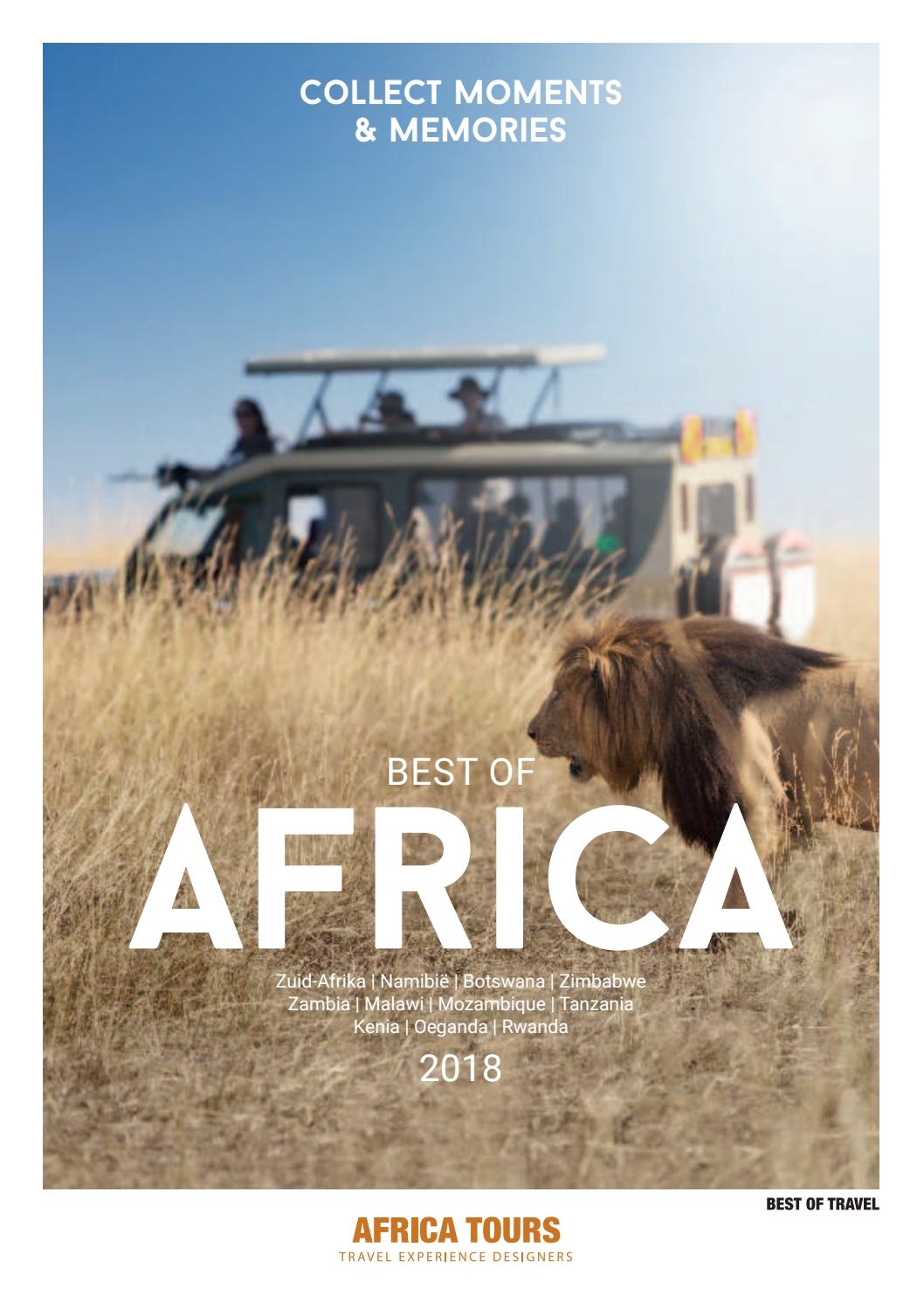 0f5b2173065 Best of Travel - Africa Tours - Best of Africa 2018 by Best of Travel -  Latin Tours - Asia Tours - Africa Tours - issuu