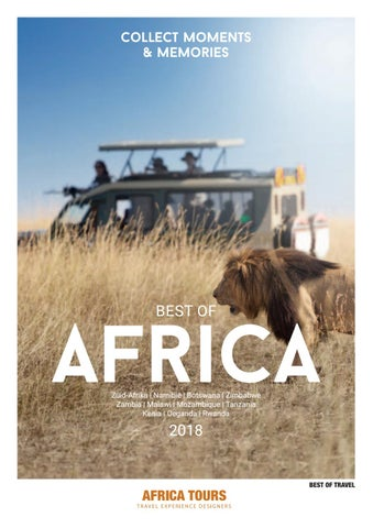 f9df57aab62 Best of Travel - Africa Tours - Best of Africa 2018 by Best of ...