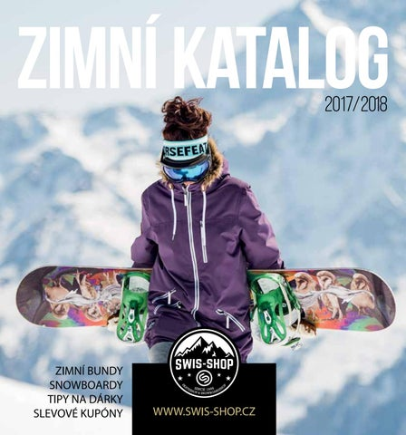 SWIS BOARD SHOP Zimní katalog 2017 2018 by SWIS BOARD SHOP - issuu bb99ea7e74