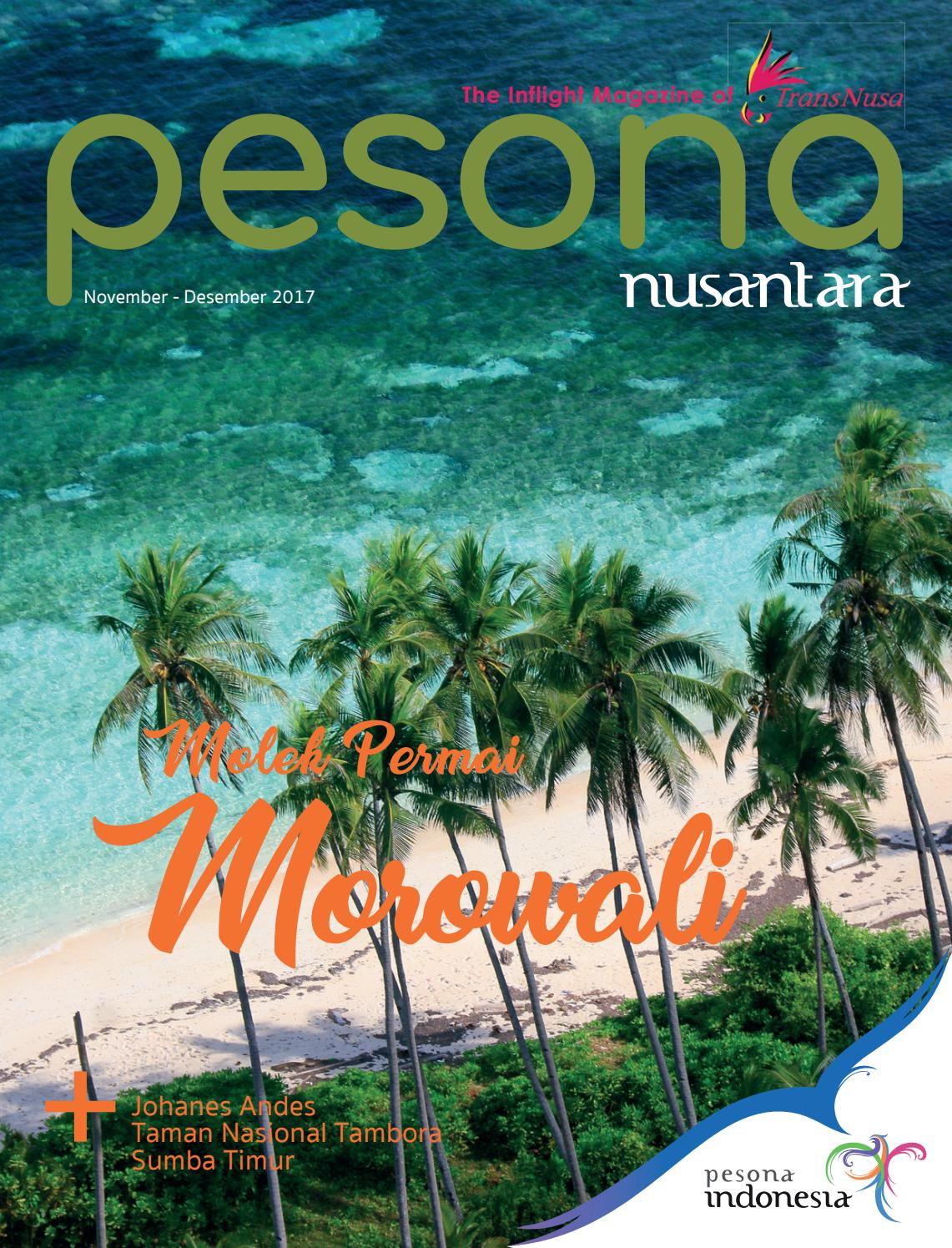 PESONA NUSANTARA MAGAZINE November Desember 2017 By