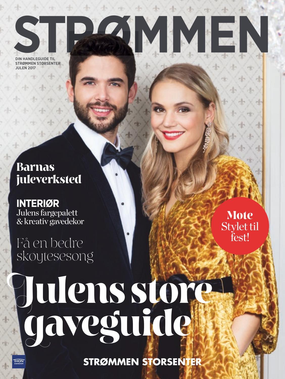 bff55227 Strømmen Storsenter julemagasin 2017 by Strømmen Storsenter - issuu