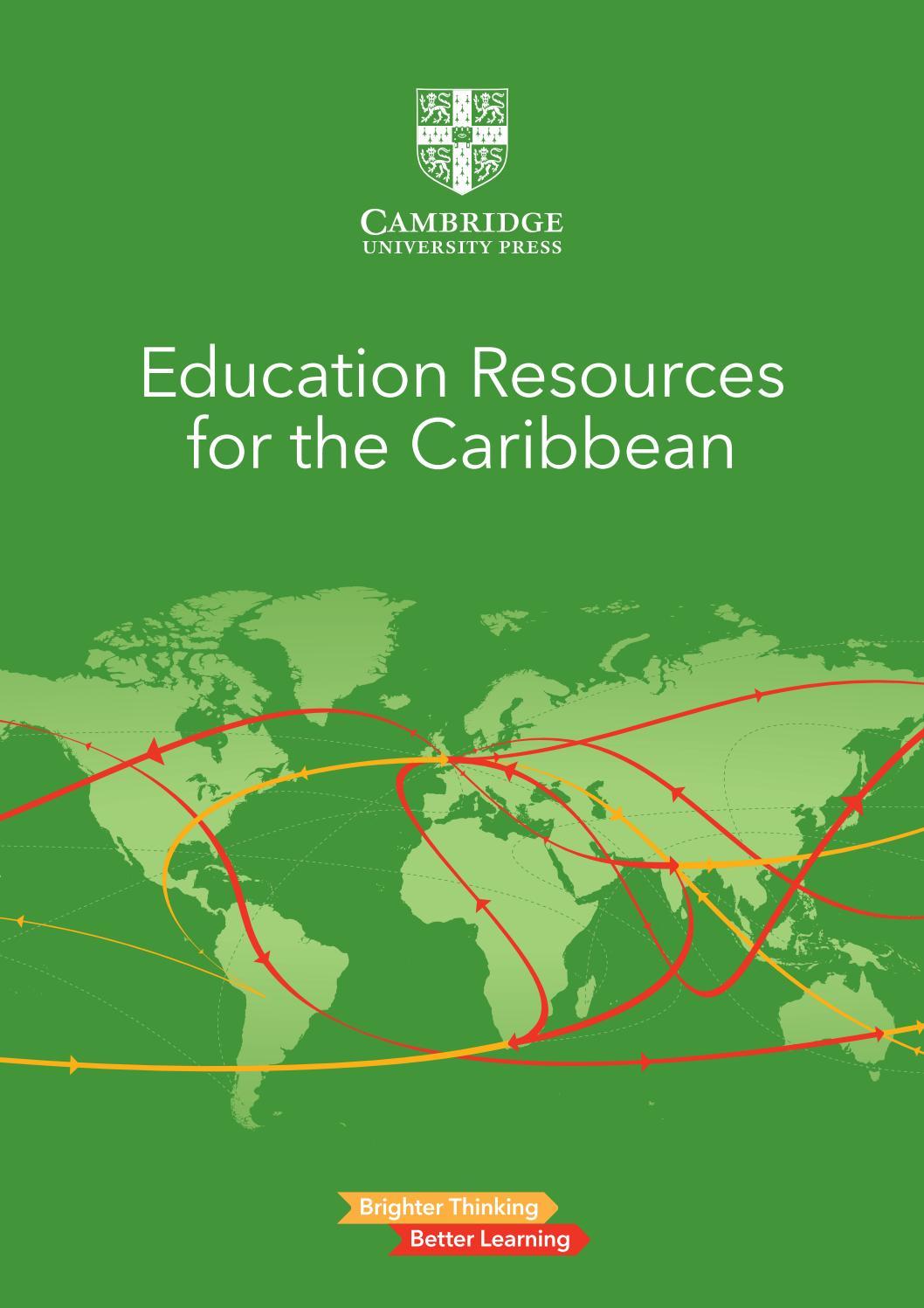 Caribbean Catalogue 2018 By Cambridge University Press