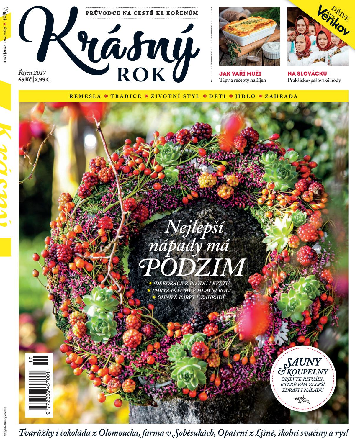 časopis Krasný rok 10 2017 by Deco Media - issuu e348008a80