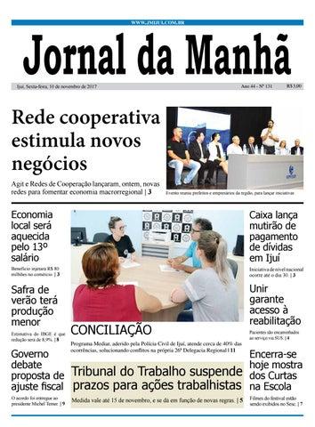 9db80f4c44 Jornal da Manhã - Sexta-feira - 10-11-17 by clicjm - issuu