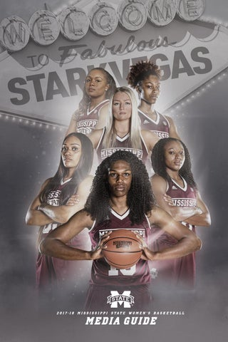2017-18 Mississippi State Women's Basketball Media Guide by