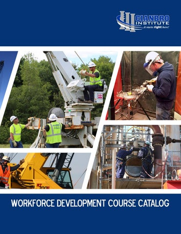 2017 Cianbro Course Catalog by Cianbro Corporation - issuu