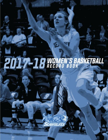 2017-18 Sonoma State Women's Basketball Record Book by