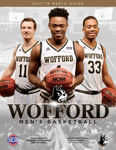 2017-18 Wofford Men's Basketball Media Guide by Wofford Athletics - Issuu