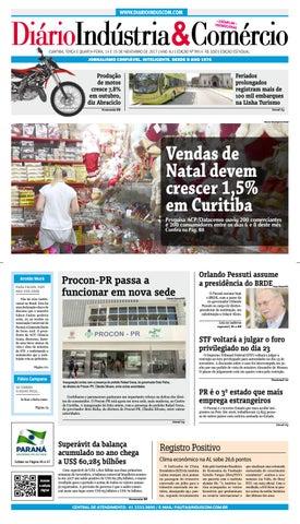 693a0cc1ce Diário Indústria Comércio - 14 de novembro de 2017 by Diário ...