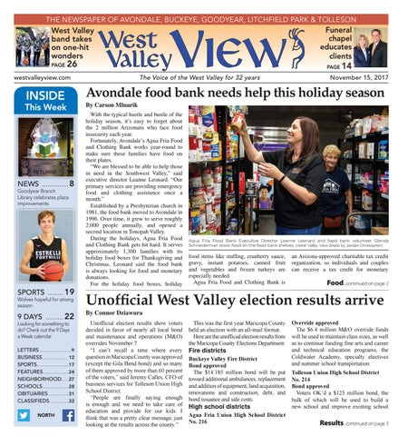 West valley view north november 15 2017 by times media group issuu page 1 fandeluxe Images