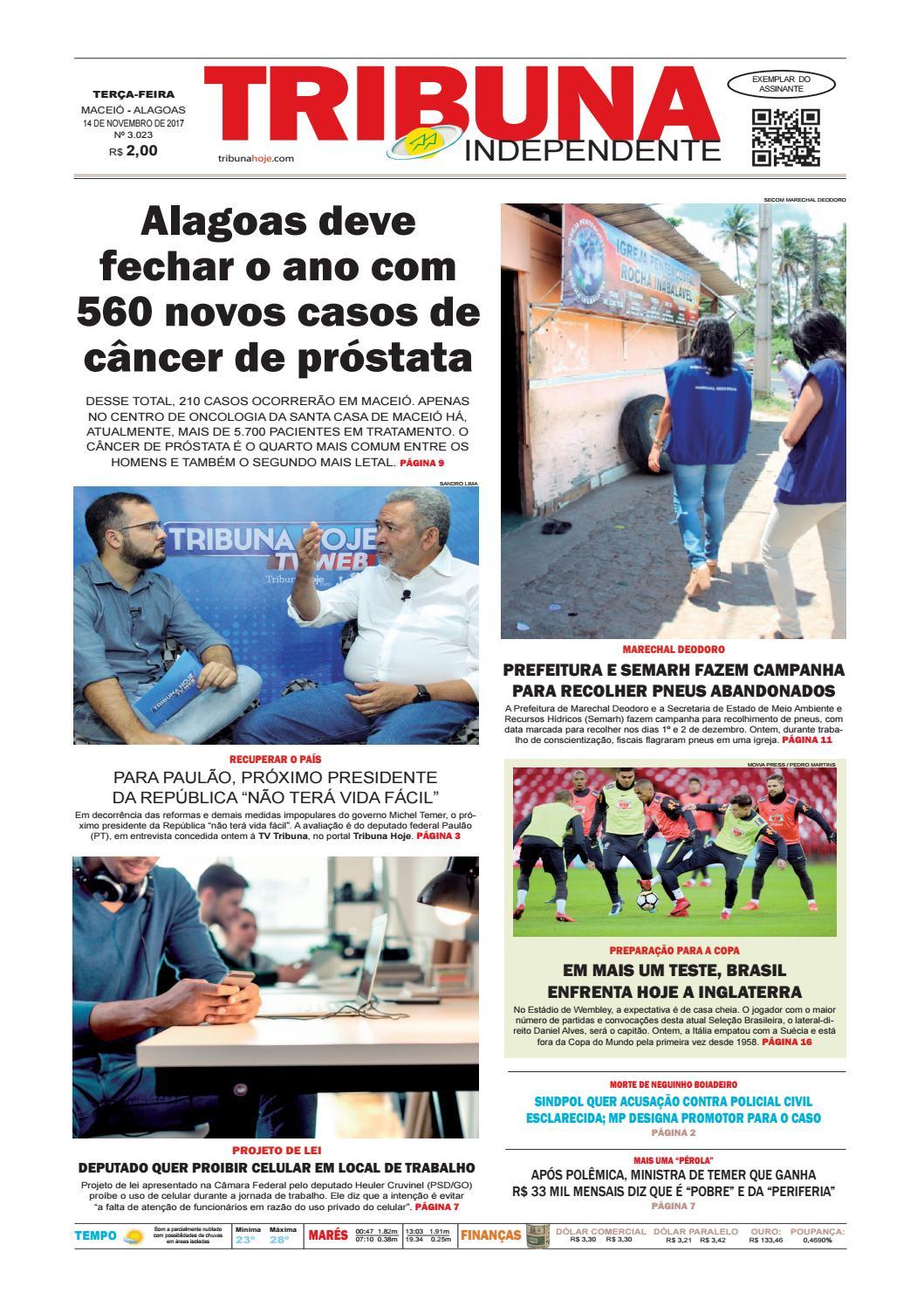 4fadaa3198571 Edição número 3023 - 14 de novembro de 2017 by Tribuna Hoje - issuu