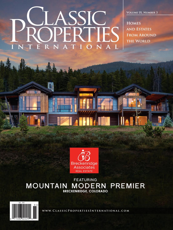 Classic Properties International: Vol. IX, No. 3 - Breckenridge ...