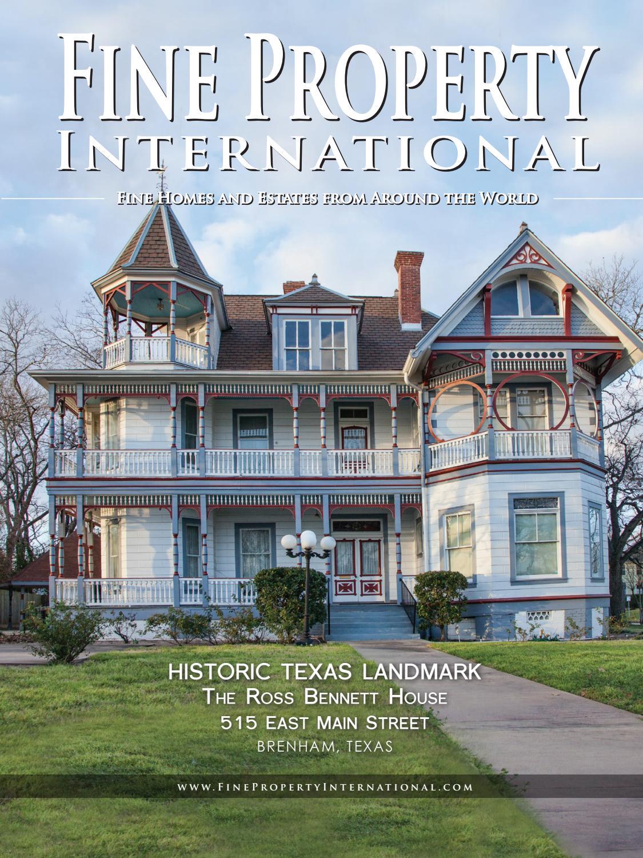 Fine Property International: Vol. IX, No. 3 - Heritage Texas Country ...