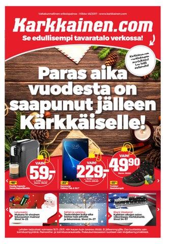 low priced f3f15 20c70 Kärkkäisen mainos (46 2017) (K-P) by Tavaratalo J. Kärkkäinen Oy - issuu