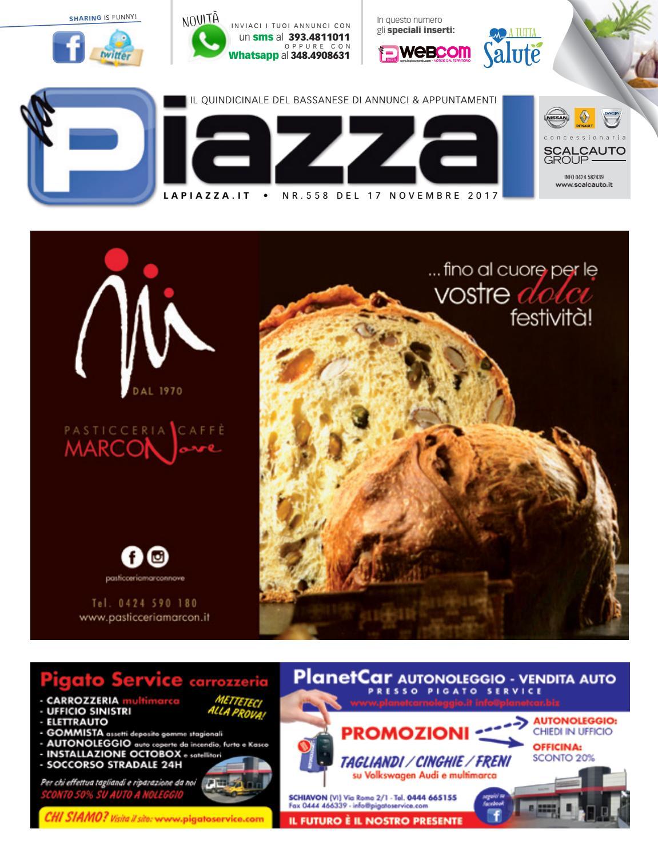 la Piazza Bassano 558 by la Piazza di Cavazzin Daniele - issuu f7a01c8ad56