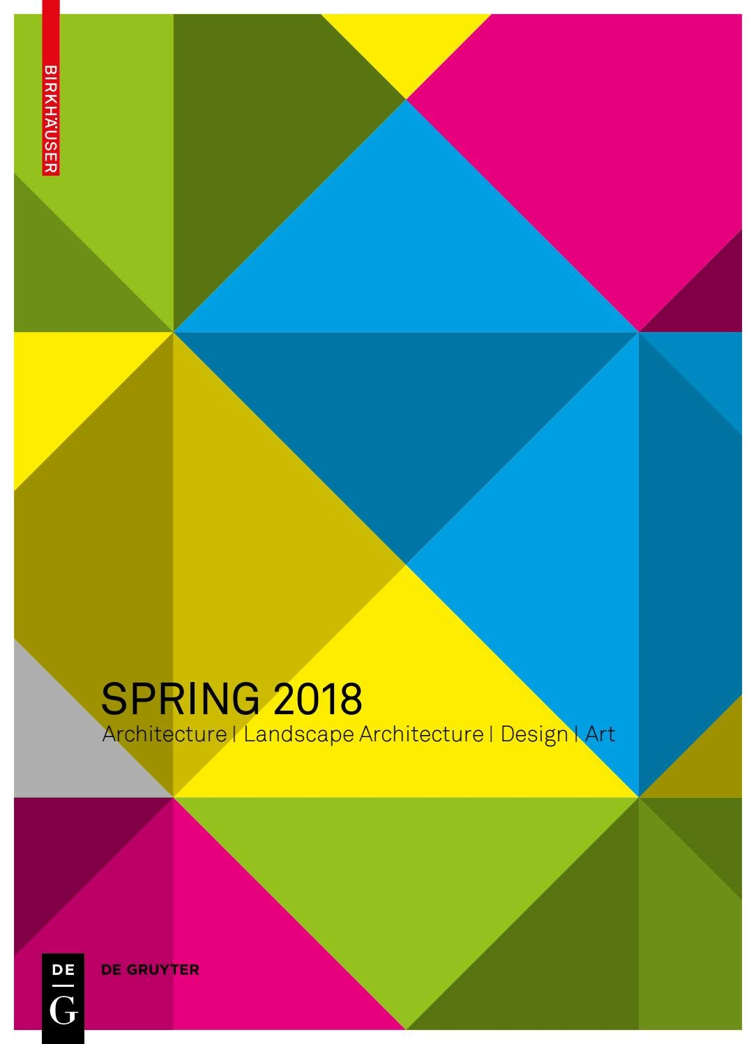 Preview Spring 2018 by Birkhäuser - issuu
