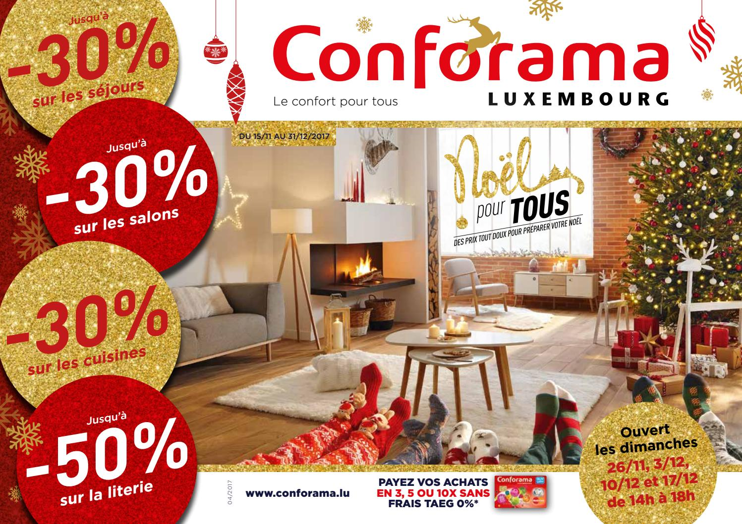 Luxembourg TousBy Doc Conforama 04Noël Pour Issuu Nm08nw