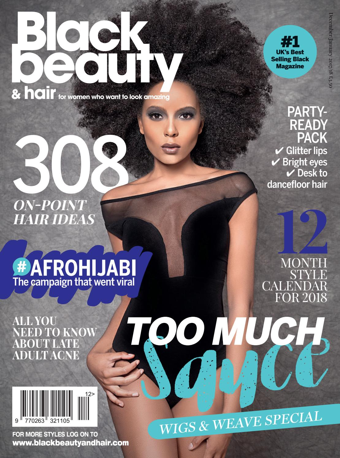 magazine beauty hair pdf december january pages blackbeautyandhair essence covers bbh issue evolumix subscription inside