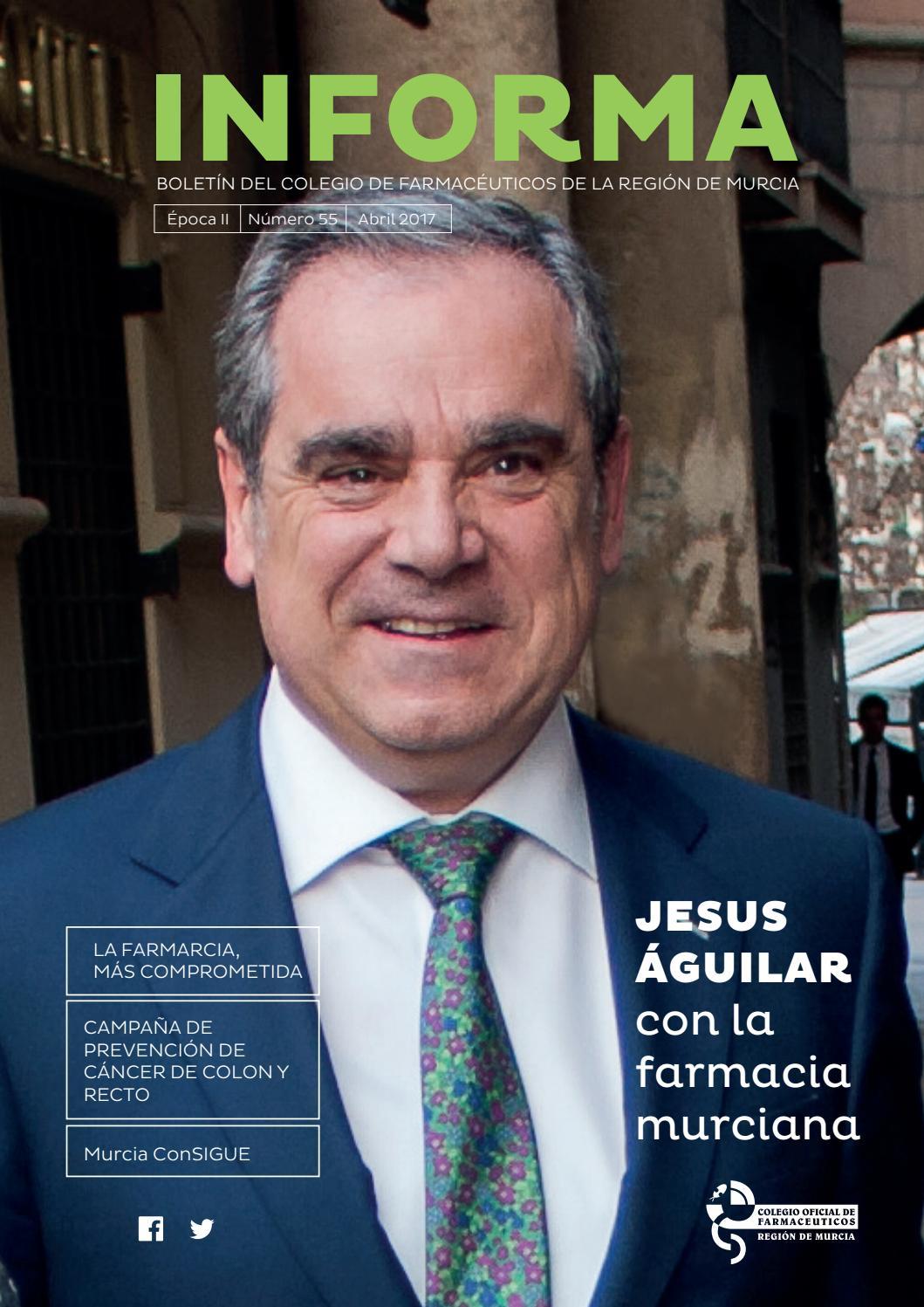 Informa Nº 55 by Colegio Oficial de Farmacéuticos de la Región de ...