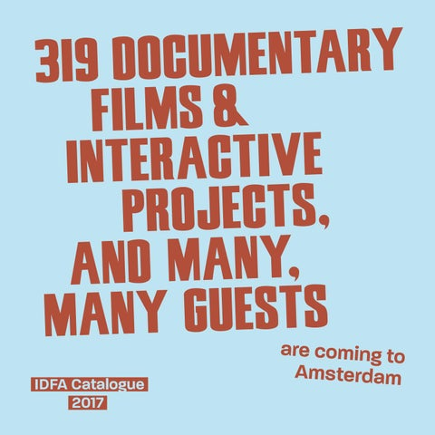 af0d62f35b IDFA Catalogue 2017 by IDFA International Documentary Film Festival ...