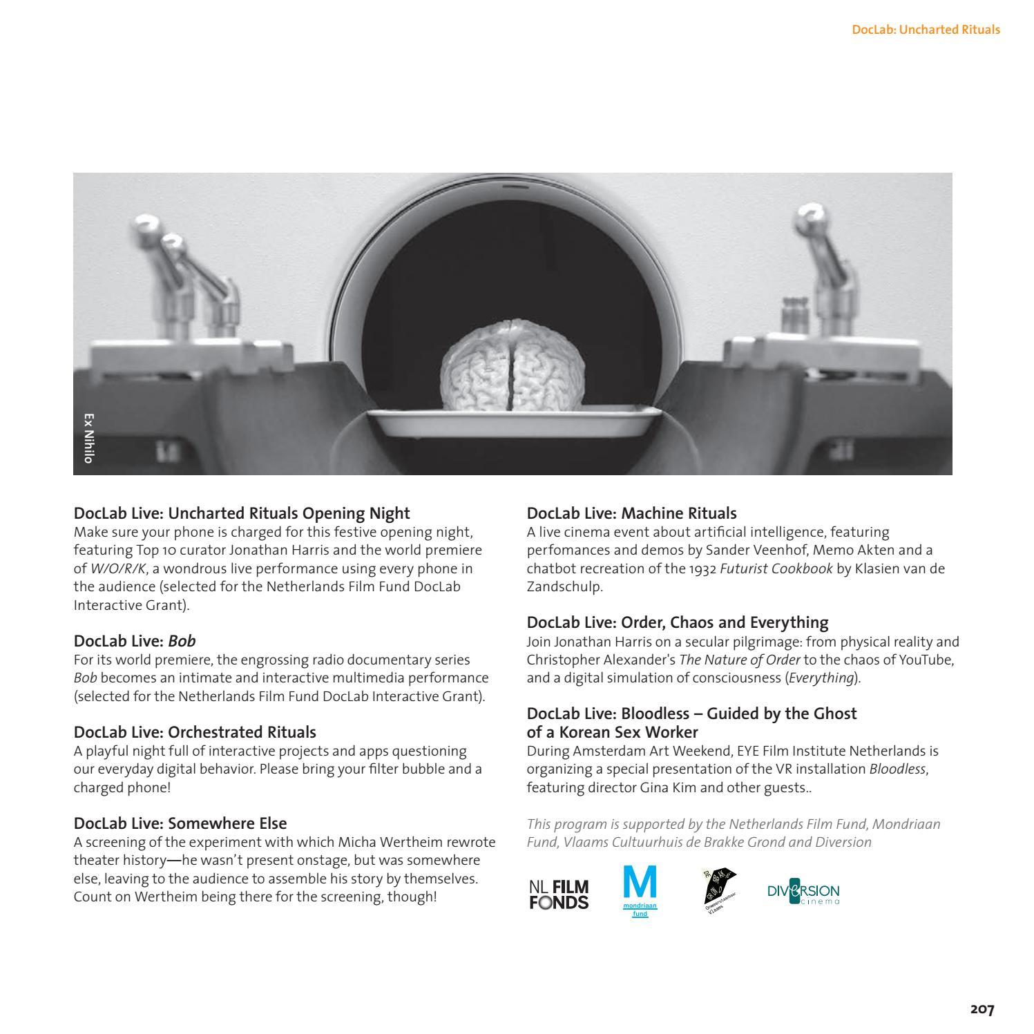 IDFA Catalogue 2017 by IDFA International Documentary Film
