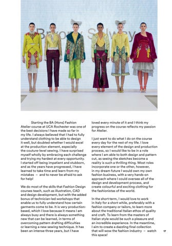 Uca Fashion Textiles By University For The Creative Arts Issuu