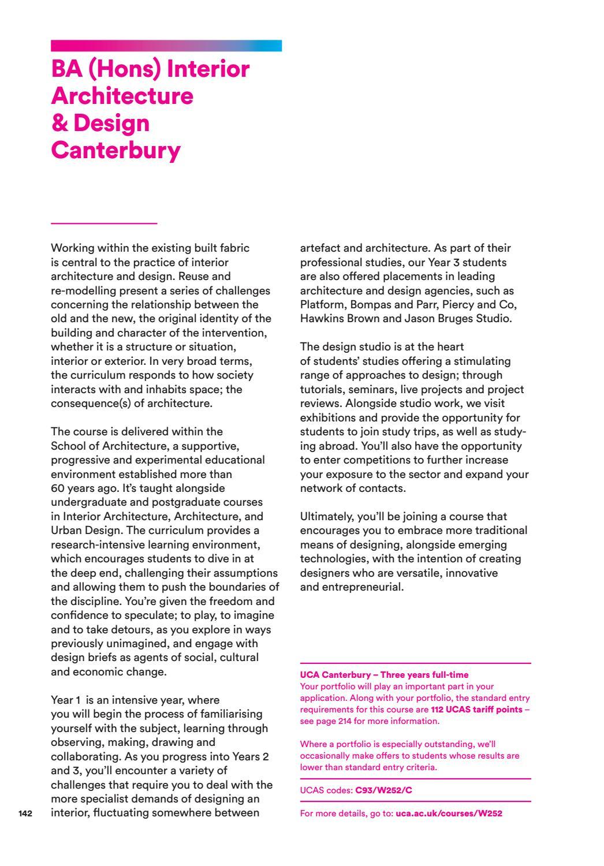 UCA Prospectus 2018 by University for the Creative Arts - issuu
