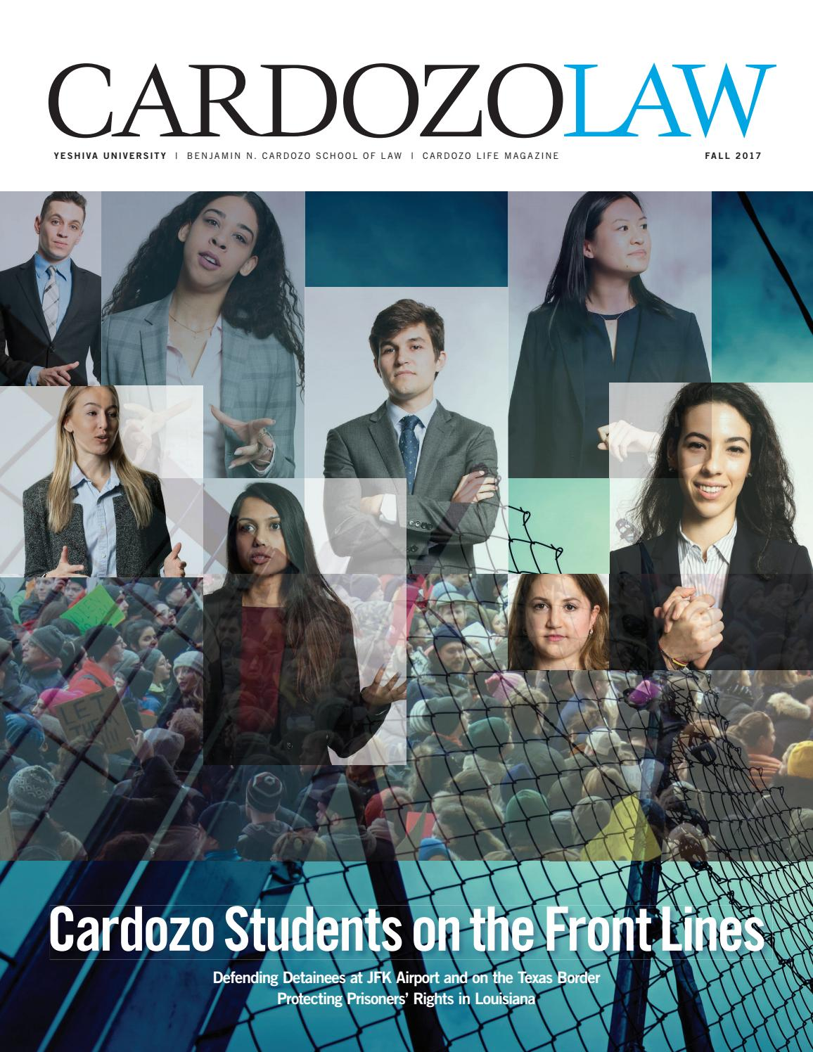 bb402504a08 Cardozo Life 2017 by Cardozo School of Law - issuu