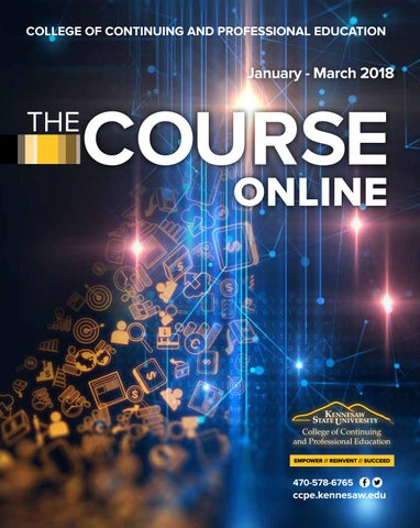 Ccpe online course catalog january march 2018 by ksuccpe issuu page 1 fandeluxe Choice Image
