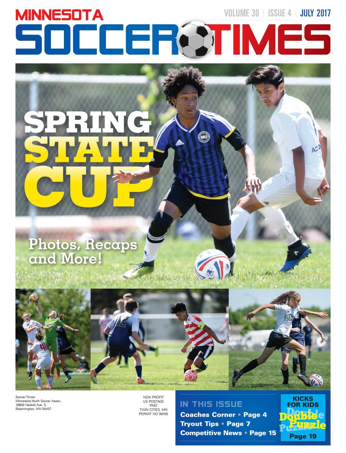 7382e61ab Minnesota Soccer Times July 2017 by Varsity Communications - issuu