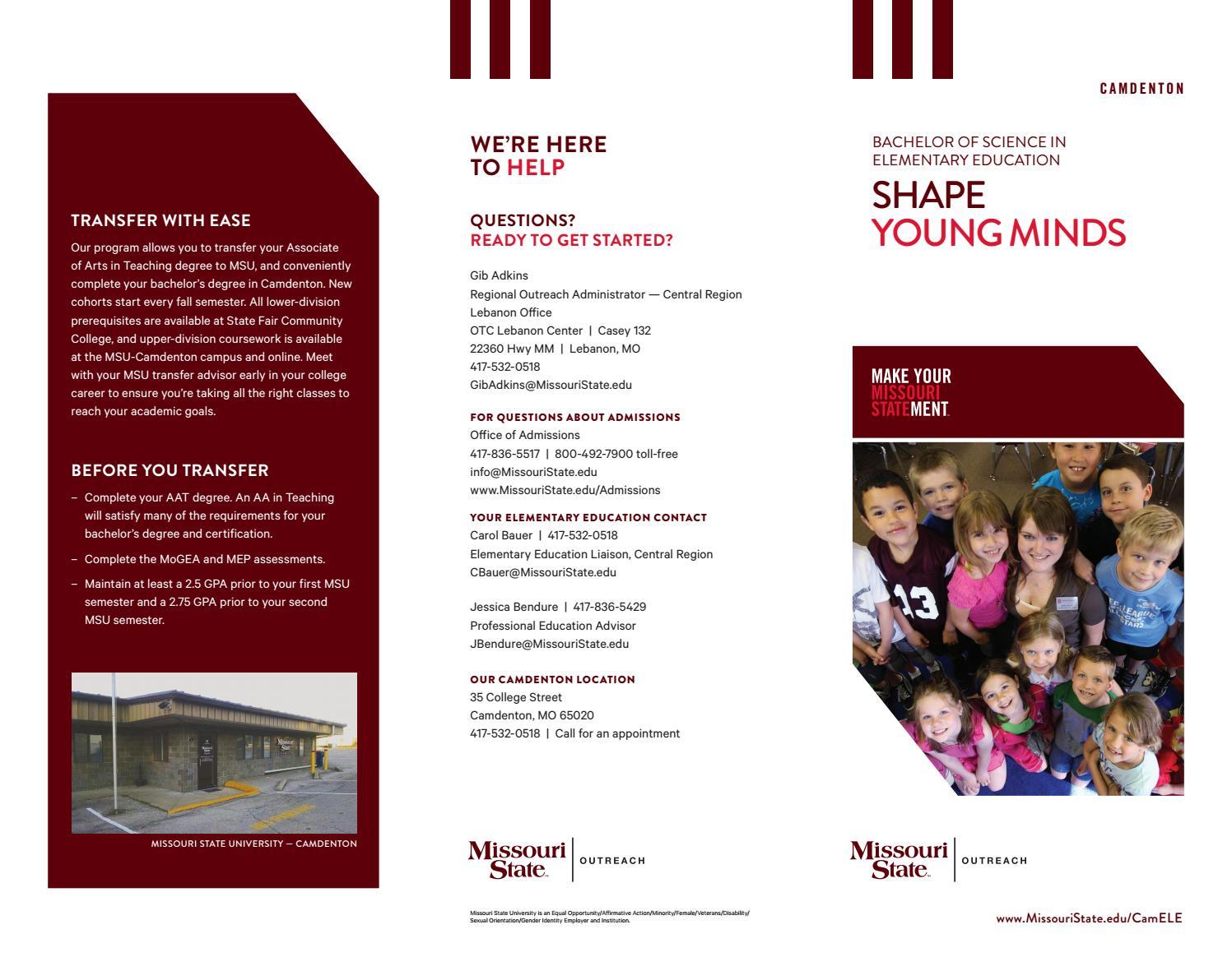 Ucm 2016 Undergraduate Catalog By University Of Central Missouri Issuu