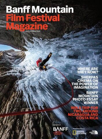b230e32ff Banff Mountain Film Festival Magazine 2017 by Banff Centre for Arts ...