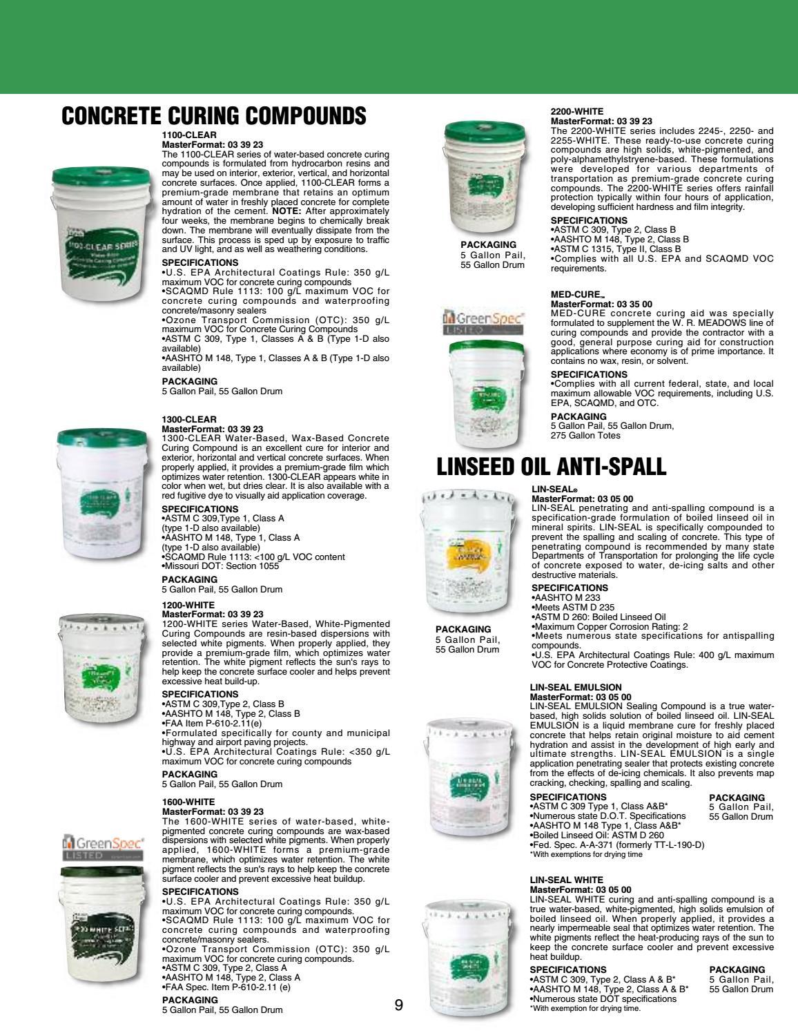 W R  Meadows Catalog by Ram Tool Construction Supply Co  - issuu