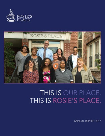 Rosies Place Annual Report 2017 By Rosies Place Issuu