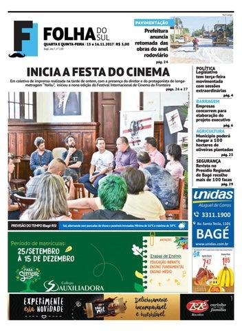 de2ecccb5 Jornal Folha do Sul 15 e 16 de novembro de 2017 by Folha do Sul ...