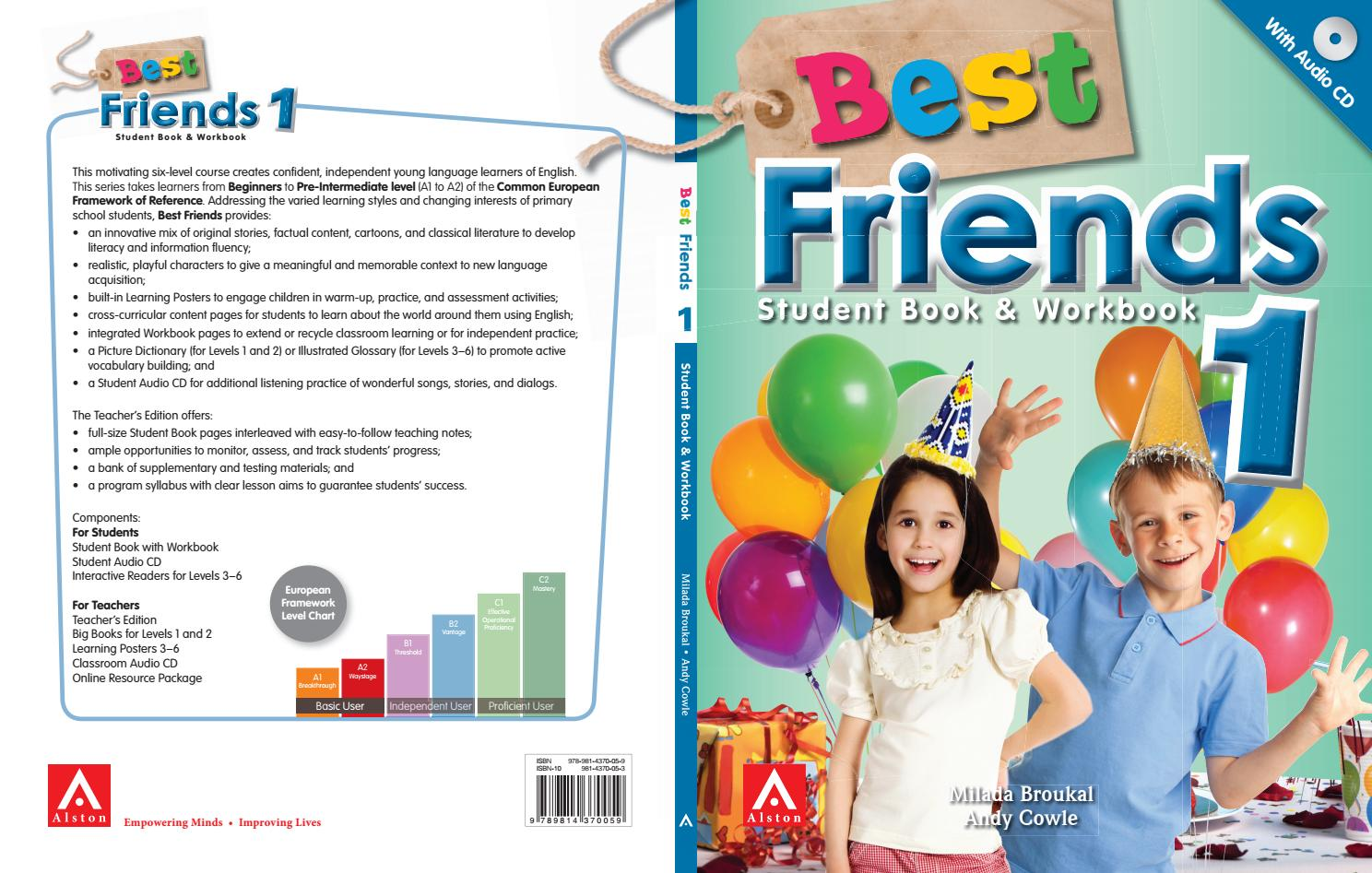 Best Friends 1 6 Table of Content by Alston Publishing