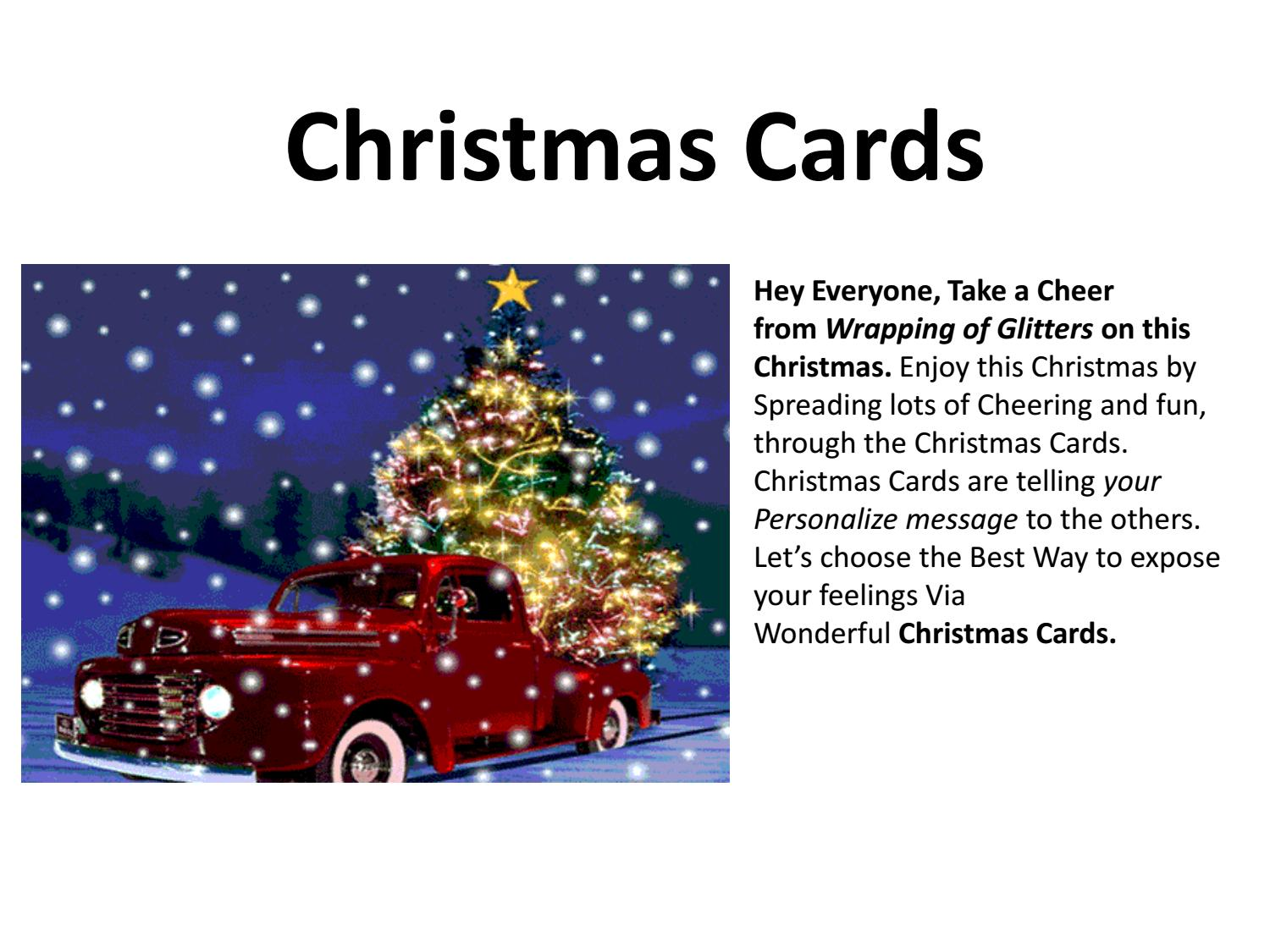 Merry Christmas Cards By 99merrychristmas Issuu