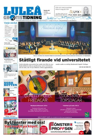 Luleå Gratistidning by Svenska Civildatalogerna AB - issuu 4300c731e92e1
