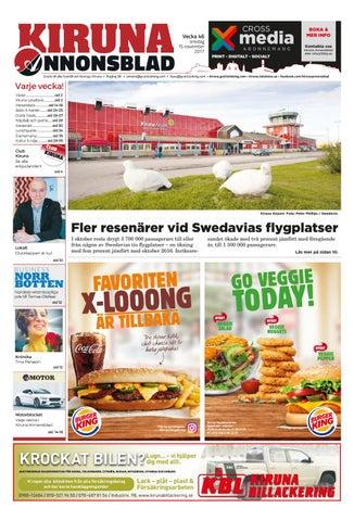 sale retailer 8e263 6dc16 Kiruna Annonsblad by Svenska Civildatalogerna AB - issuu