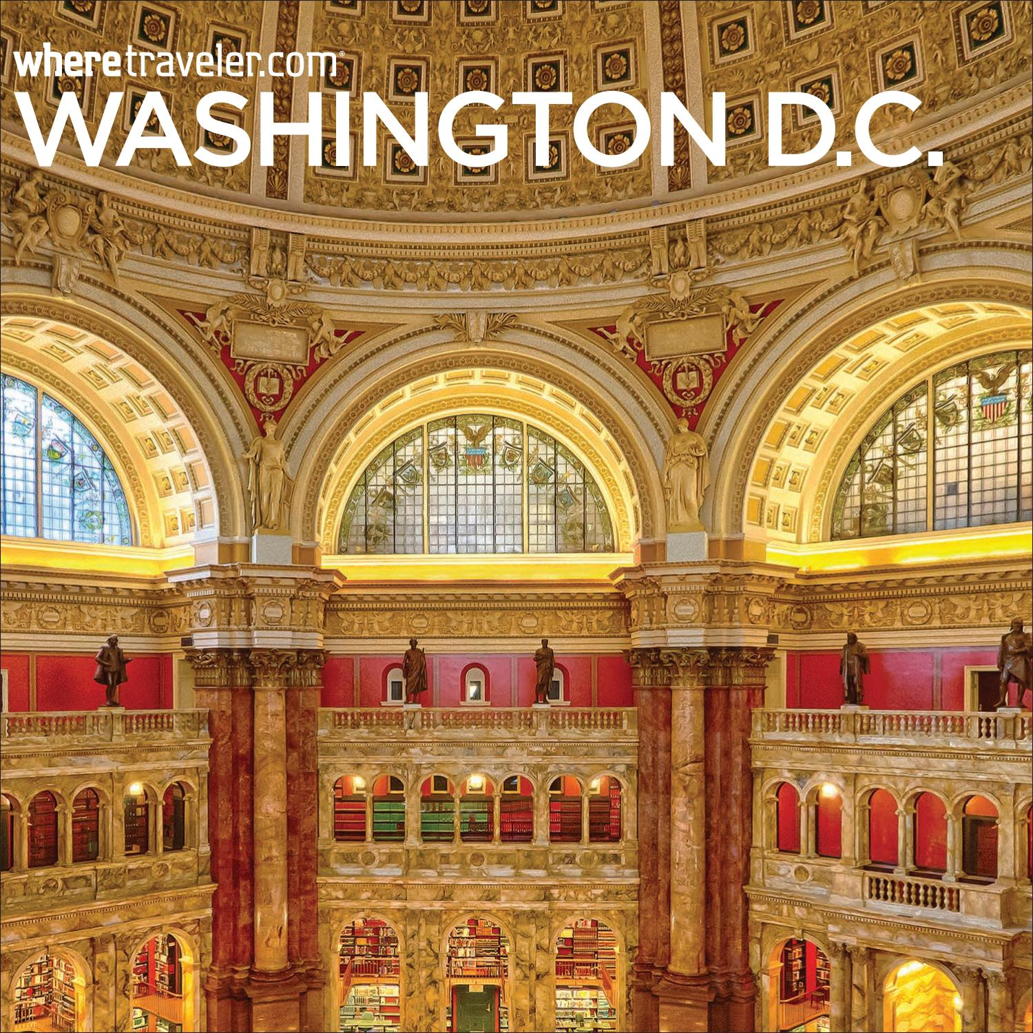 Where Guestbook Washington DC 2018 by Morris Media Network
