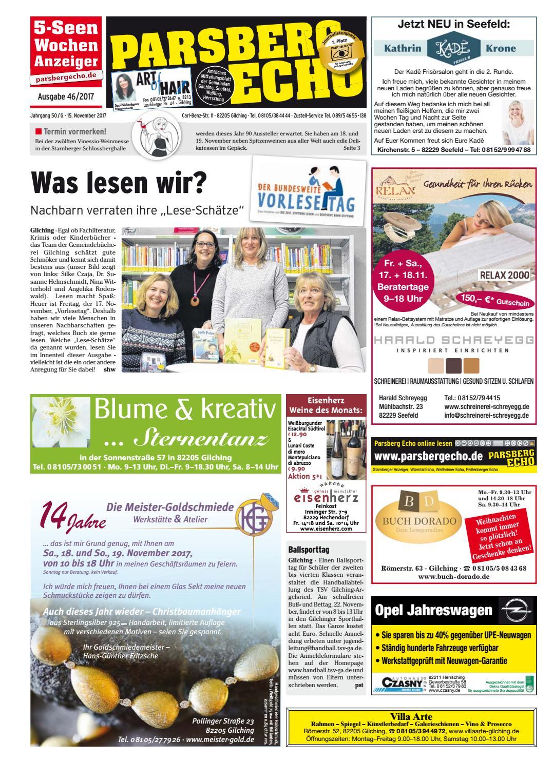 KW 46-2017 by Wochenanzeiger Medien GmbH - issuu