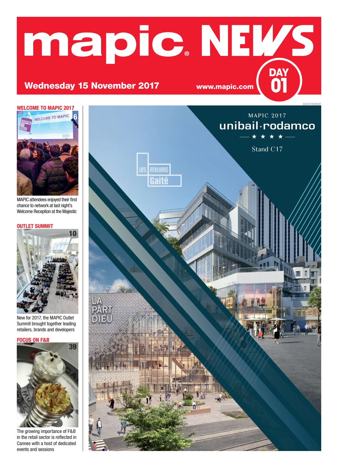 Mapic 2017 News 1 By Reed Midem Real Estate Shows Issuu