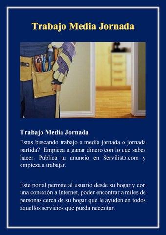 Trabajo Media Jornada By Jack Willium Issuu