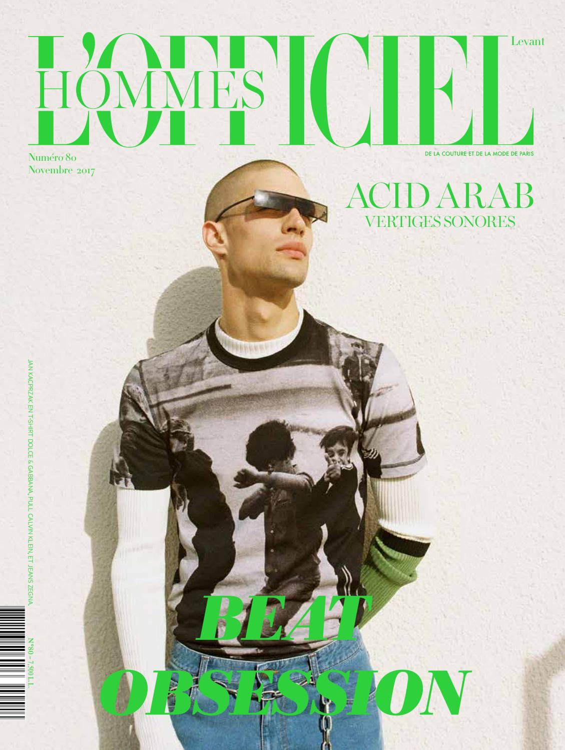 376a7df4f4 L'Officiel- Hommes, November-Levant Issue 80 by L'Officiel Levant - issuu