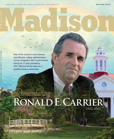 Madison Magazine: Winter 2018 by James Madison University - issuu