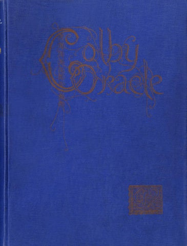 The Colby Oracle 1892 by Colby College Libraries - issuu 15740c1edd