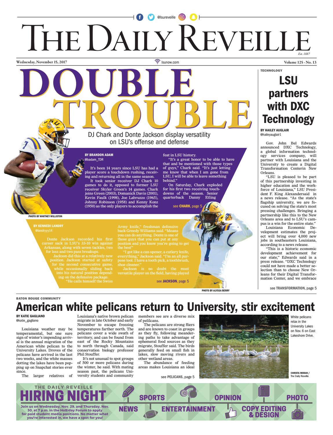 The Daily Reveille 11-15-2017 by The Daily Reveille - issuu