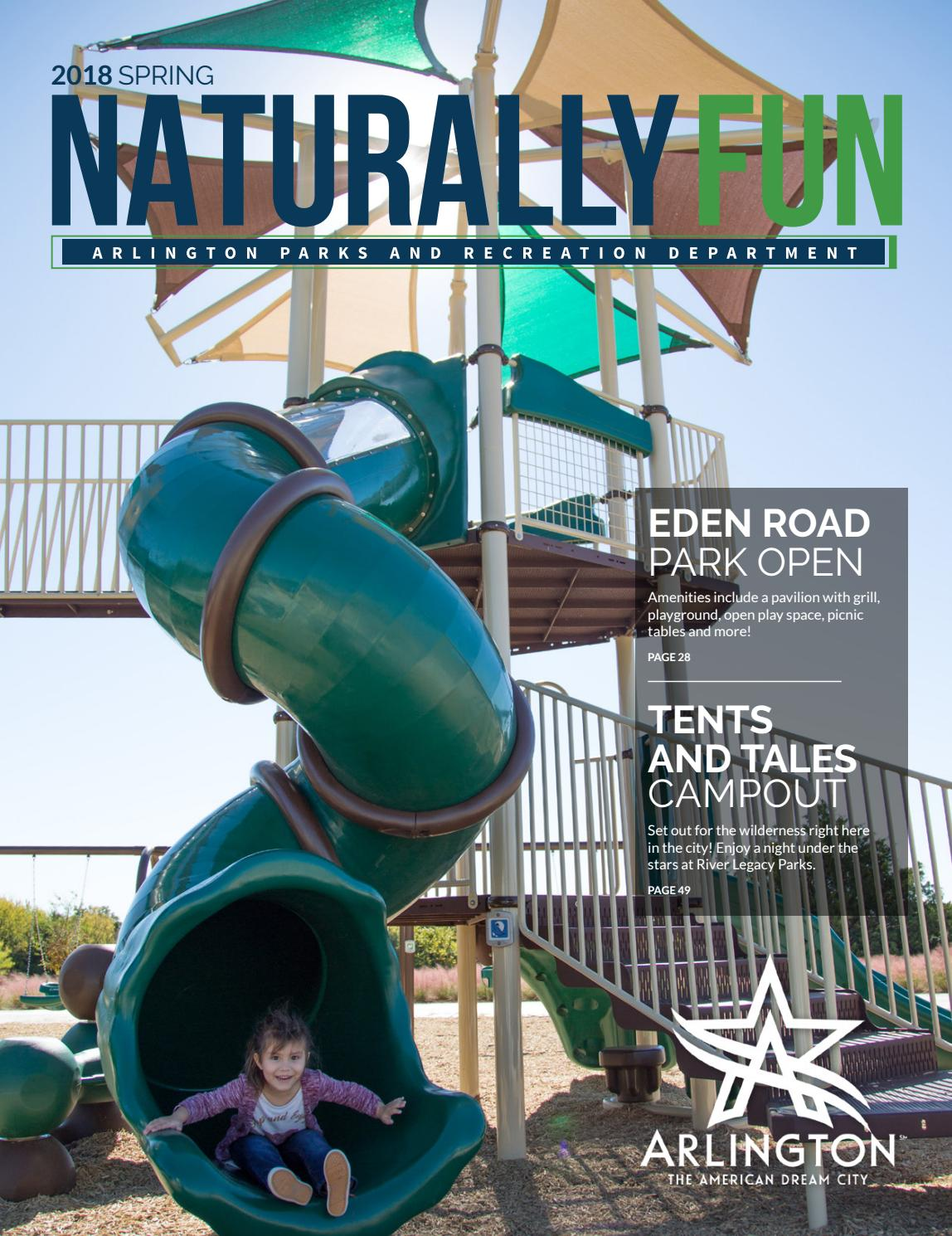 Spring 2018 Naturally Fun Magazine By Arlington Parks And Natural Cotton Ultra Slim Overnight 4s Recreation Department Issuu